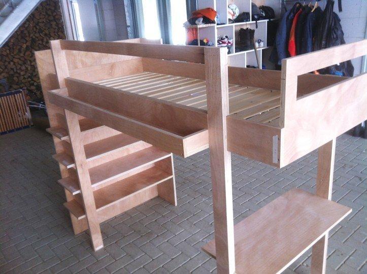 DIY Loft bed Ana made by