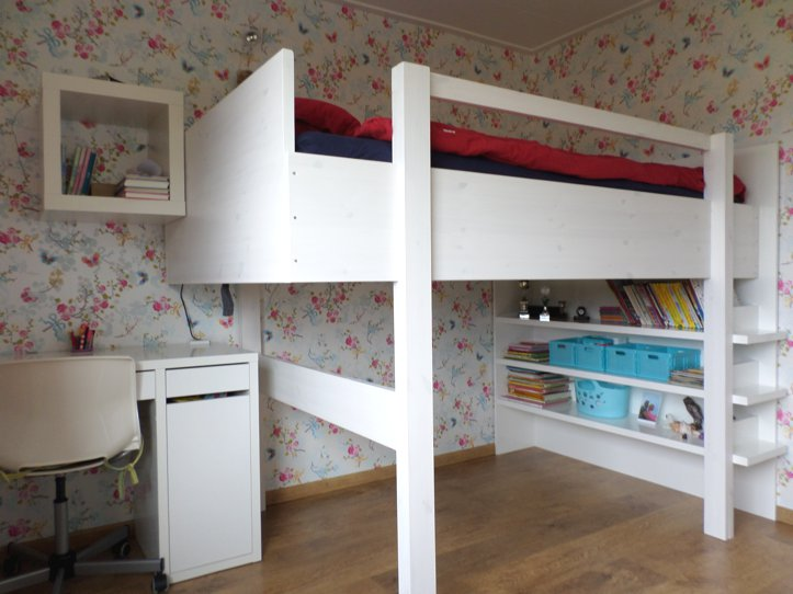 Loft Bed Kopen.Diy Modern Double Loft Bed Ana By Janet