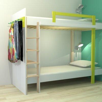 Drawing DIY plans bunk bed 'Mila'