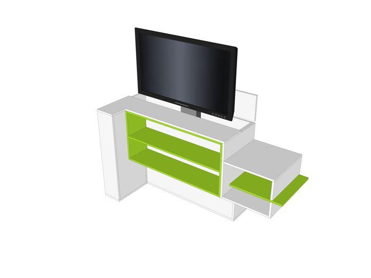 Tv Meubel Met Lift 55 Inch.Diy Furniture Plan For Tv Stand With Elevator Javier
