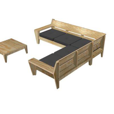 Furniture Plan Outdoor Sofa Set Yelmoxl Dutch Design