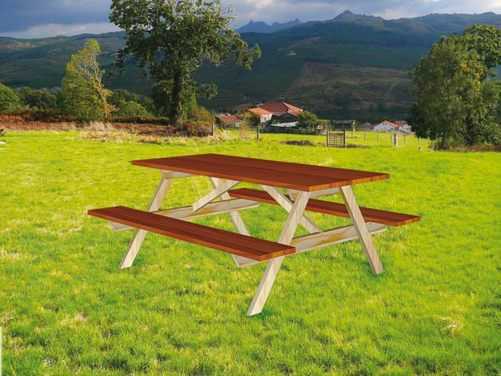Image Free furniture plan picnic table nevada