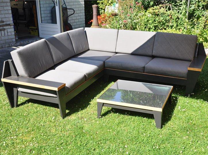 Build Your Own Outdoor Sofa Design Plans