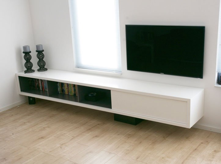Tv Meubel Hip.Floating Tv Cabinet Arturoxl By Ralph