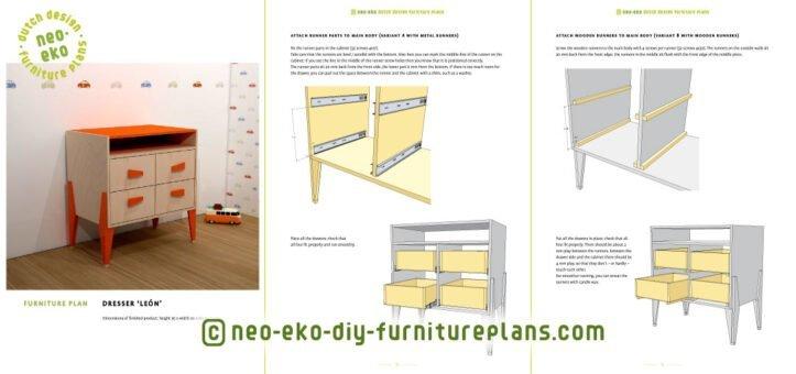 diy dutch design baby dresser preview Leon