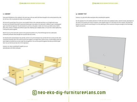 diy furniture plan floating tv unit preview Penelope