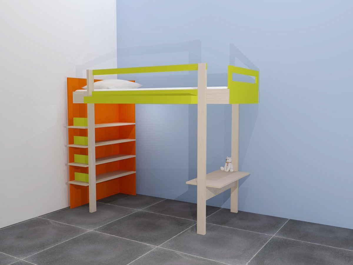 Diy Design Loft Bed Ana Furniture Plan