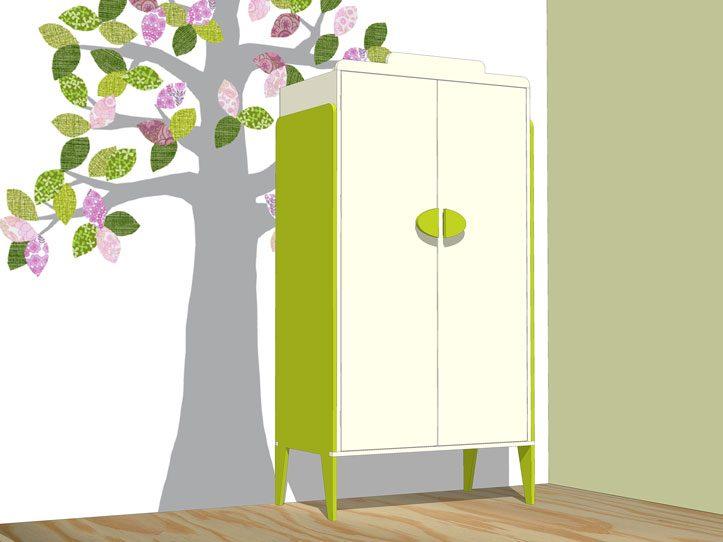 Drawing DIY plans closet 'Nicole'