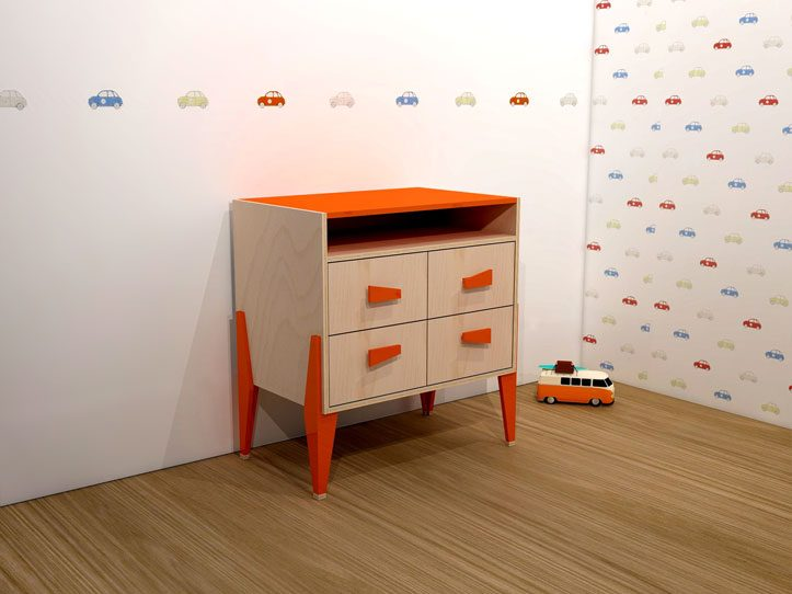 Drawing DIY plans dresser 'Leon'