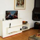 DIY TV stand with lift 'Astor' made by