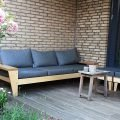 Photo DIY outdoor sofa 'Yelmo' by