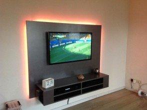 DIY floating TV cabinet 'Penelope' made by