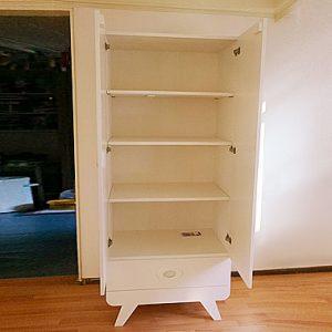 Photo DIY plans closet 'Nicole' by Mieke