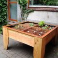 Image DIY kitchen garden table Huerta