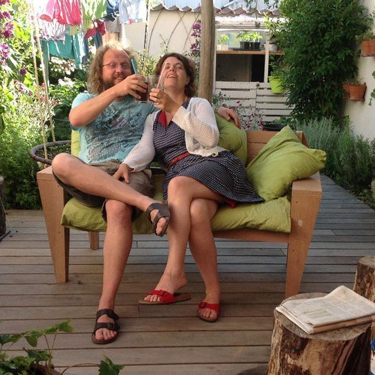 Photo DIY garden bench 'Turbon' by