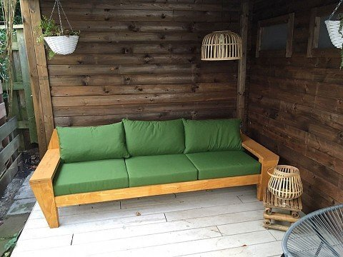 Photo DIY lounge sofa 'Yelmo' by