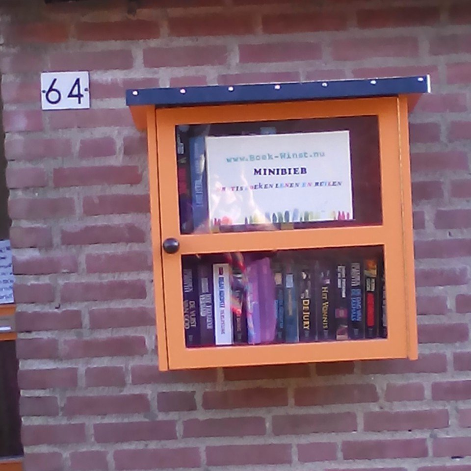 Image DIY little free library 'Libros' by