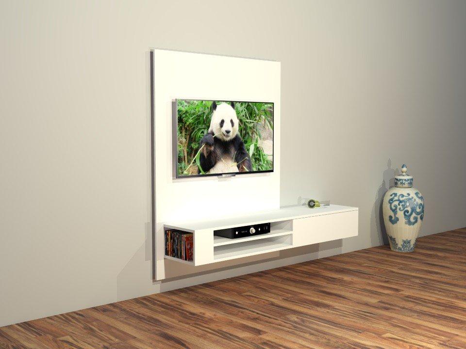Extreem Furniture plan: build your own Modern Design TV unit #KV46