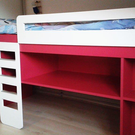 Photo DIY medium loft bed 'Demi' by