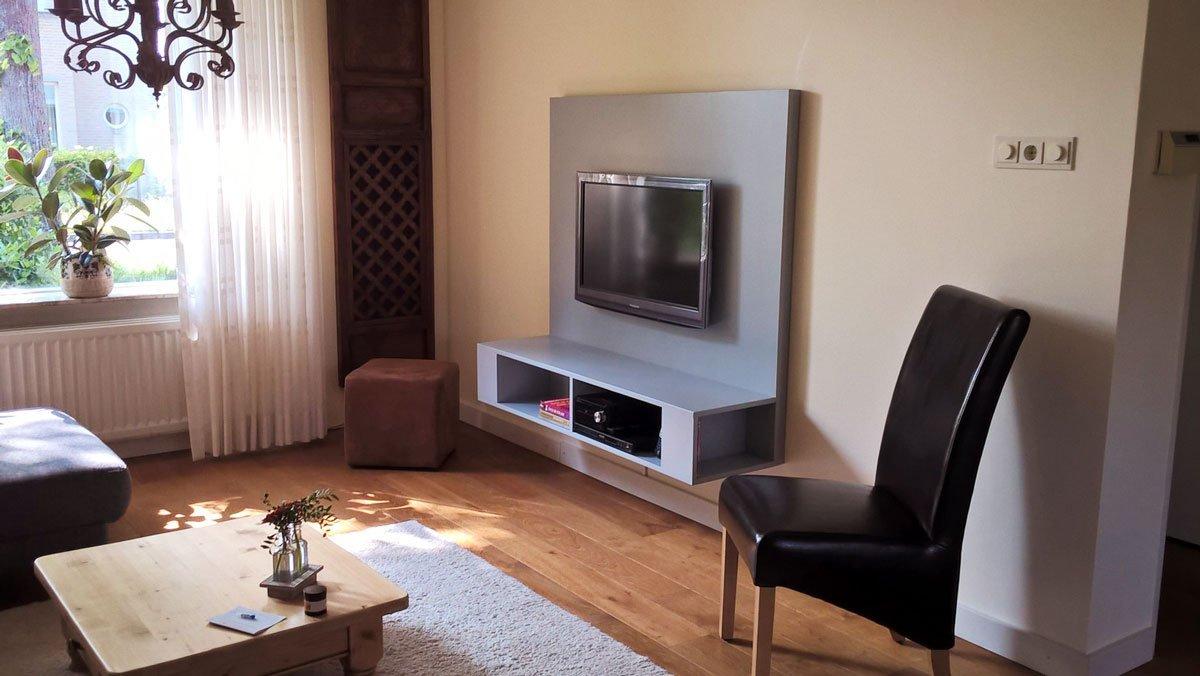 Wand Tv Kast : Tv mbel wand cool wandkast met ingebouwde televisie tv wand with