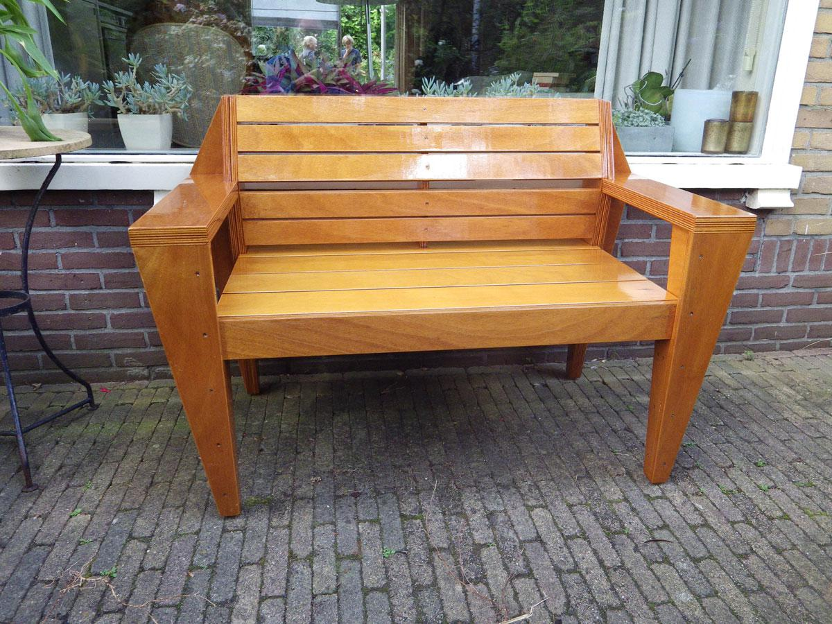 Phenomenal Garden Bench Turbon By G Vd B Gmtry Best Dining Table And Chair Ideas Images Gmtryco