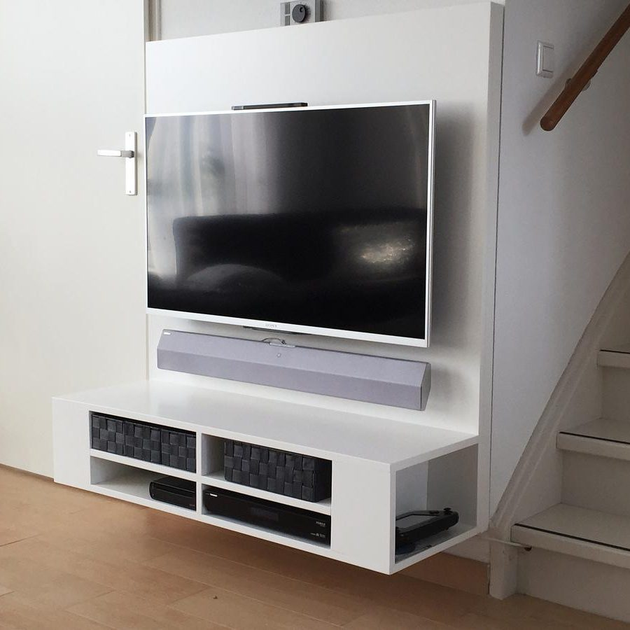 Tv Meubel Zelf Bouwen.Floating Tv Cabinet Arturoxl By Ralph