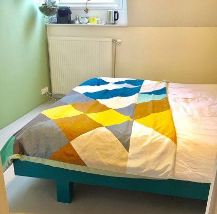 DIY Bed Azobe built by Joyce