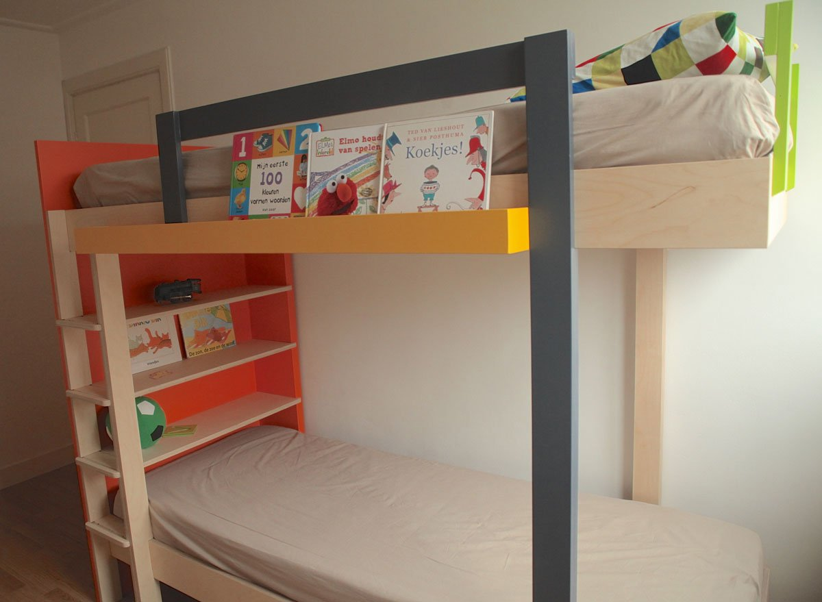 DIY bunk Mila made by Sicco