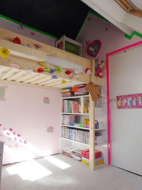 DIY loft bed 'Ana' by Eveline