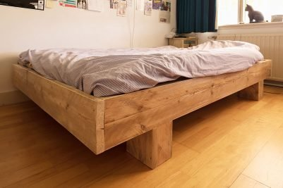DIY-double-bed-Azobe-by Nienke-d-W