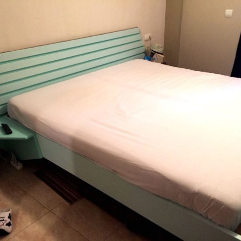 Double bed Hayeda built by Sjaak-U