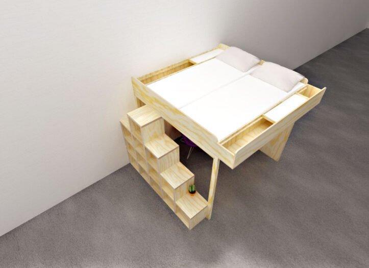 DIY-2-persons loft Carlos