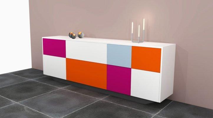 DIY Dressoir-sideboard-Laila-Design by Neo-Eko render