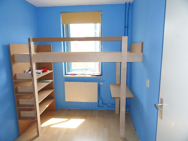 DIY Loft bed Ana made by