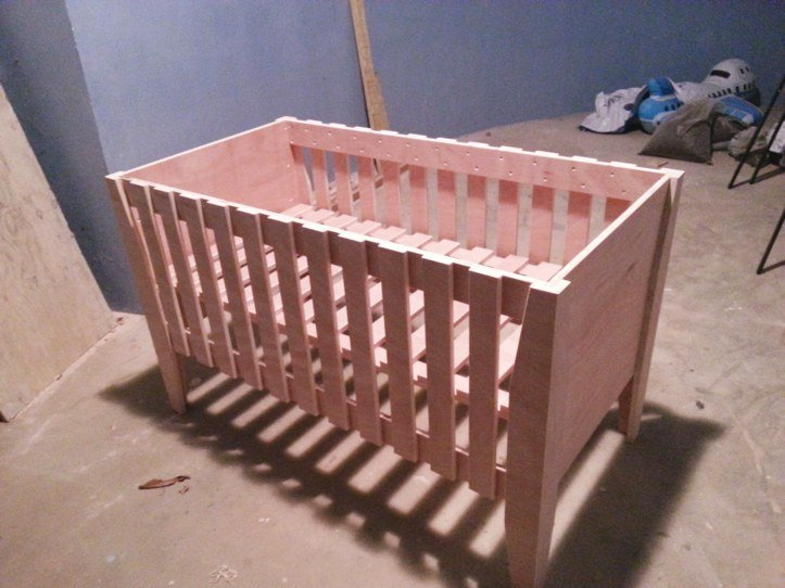 Make Children S Furniture Build Your Own Cot Changing