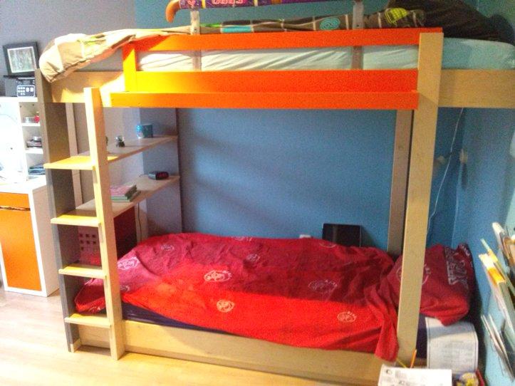 Diy design bunk bed 39 mila 39 by hanneke - Bed kamer ...