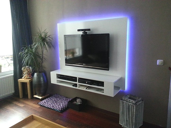 Tv Lift Meubel Ikea.Floating Tv Cabinet Penelope Built By Ron