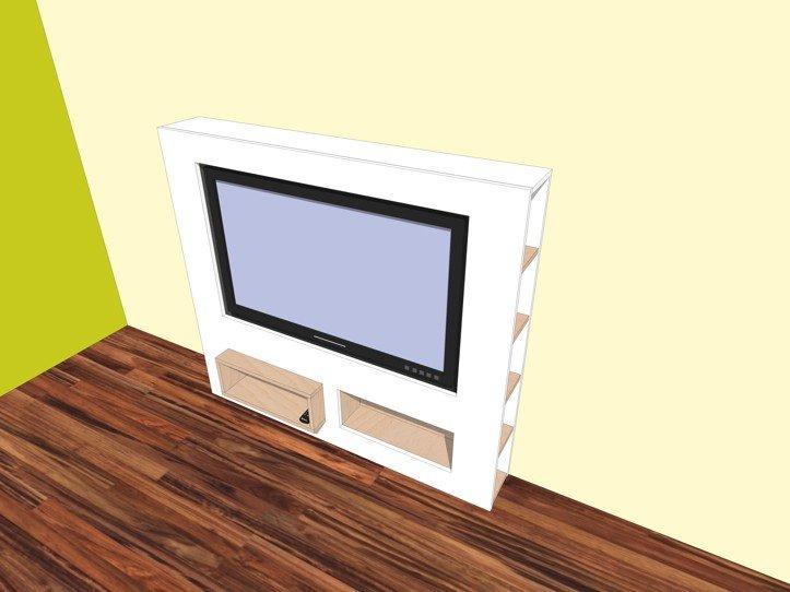 Strak Houten Tv Meubel.Furniture Plan Diy Modern Tv Stand For Plywood Or Mdf