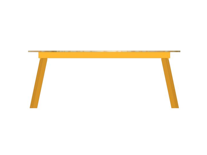 DIY modern table 'Teruel'