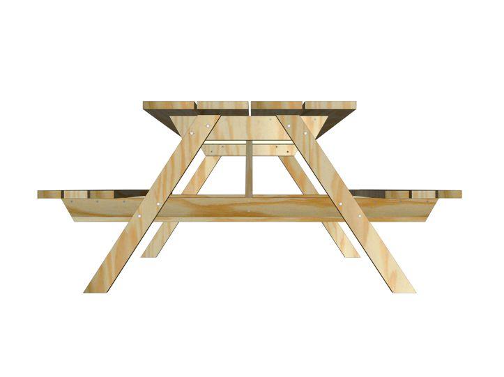 Image Free furniture plan picnic table nevada