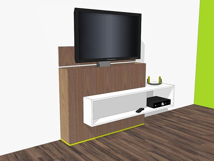 Kast Tv Kast.Diy Furniture Plan For Design Tv Stand With Lift Astor