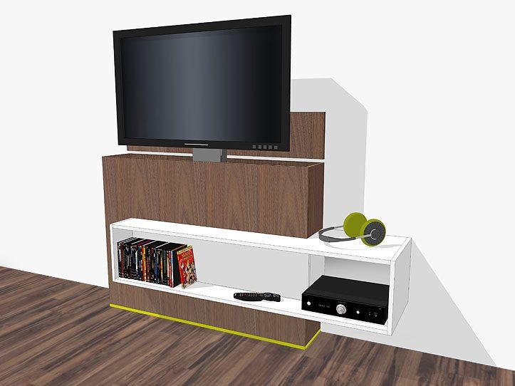 Stevige Tv Kast.Diy Furniture Plan For Design Tv Stand With Lift Astor