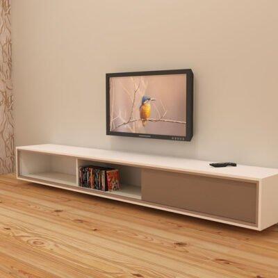 diy floating tv cabinet
