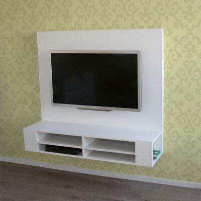 Tv Meubel Ophangen.Diy Floating Tv Stand Cabinet Unit Penelope Furniture Plan