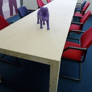DIY modern table 'Cuco' drawings | plan