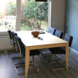 DIY modern table 'Cuco' made by