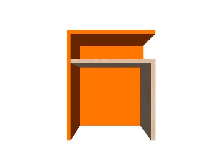 Drawing DIY plan side table | night stand 'Pilar'