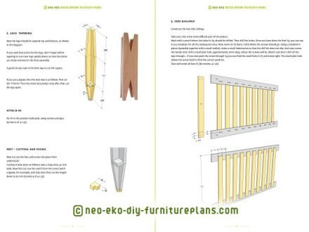 build your own cot baby bed furniture plan preview-Leon
