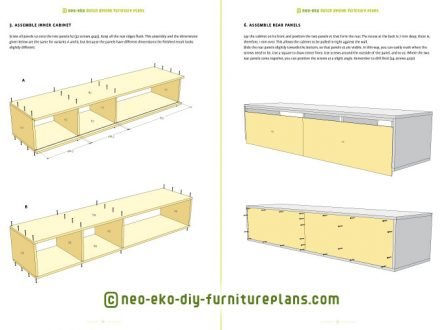 build your own tv cabinet floating diy furnitureplan preview Arturo