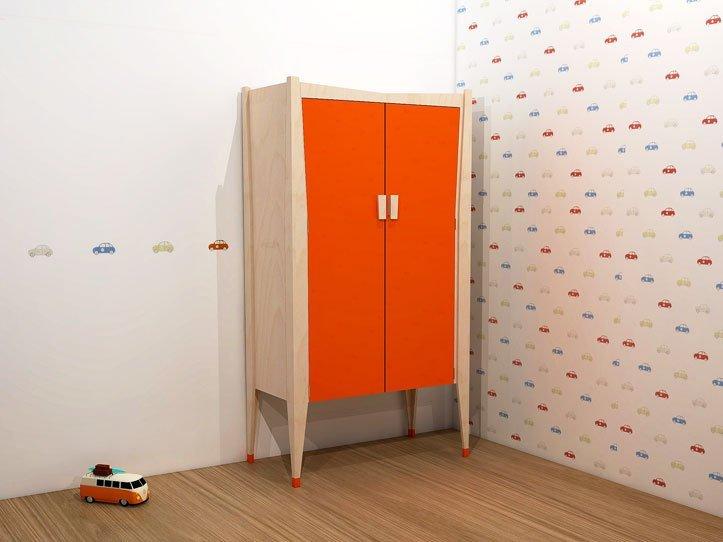 Furniture plans of children's room Leon: cabinet Leon